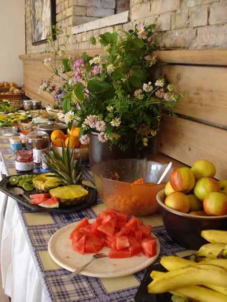 Frühstücksbuffett, Foto: Gabriela Loewner