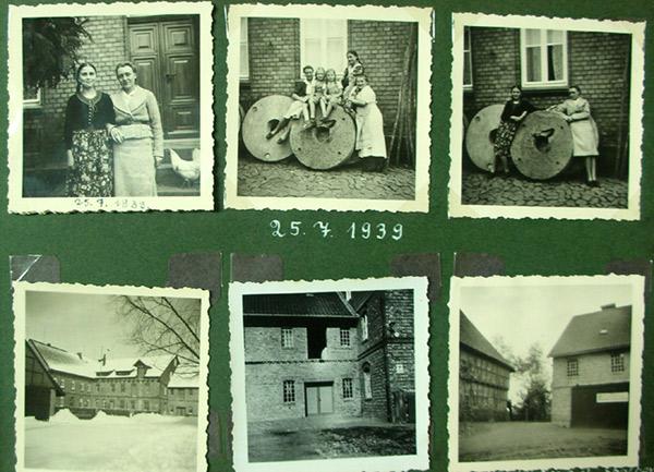 Fotoalbum 1939 Kunstmühle Veckenstedt